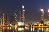 Down town of Dubai city — 图库照片