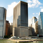 New York city - 4 Sep - panorama with skyscrapers — Stock Photo #5132537