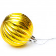 Christmas decoration isolated on the white background — 图库照片