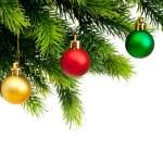 Christmas decoration isolated on the white background — Stock Photo #5134404