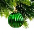 Christmas decoration isolated on the white background — Stock Photo #5134428