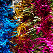 Abstract colour background of many colourful fibers — Stock Photo