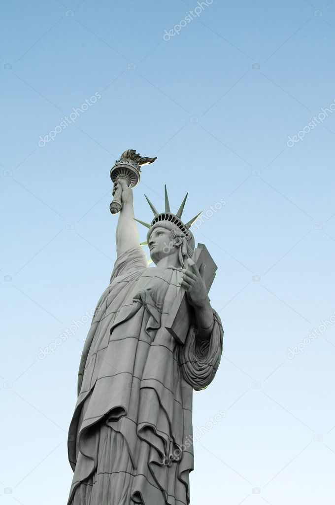 Famous statue of Liberty in New York — Stock Photo #5132915