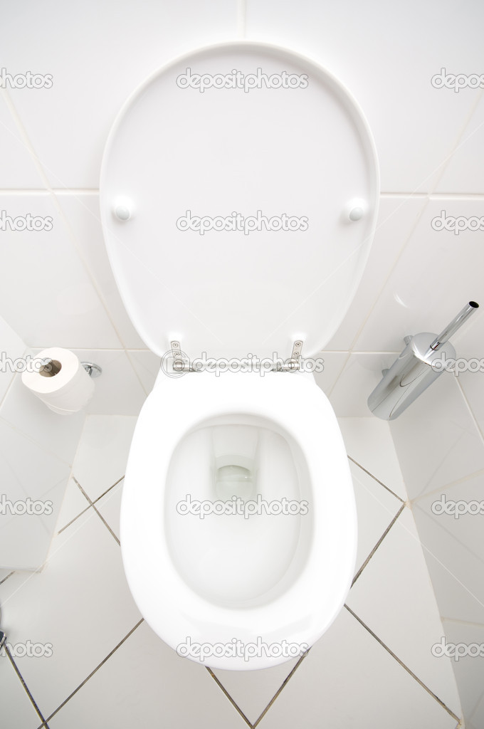 Interior of the room - Toilet in the bathroom  — Stock Photo #5134153