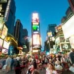 Nova Iorque - 3 de setembro de 2010 - times square — Foto Stock
