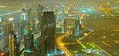 Down town dubai şehir - bae panoraması — Stok fotoğraf