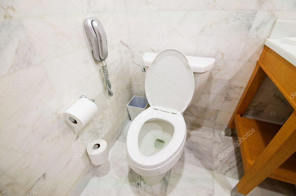 Interior of the room - Toilet in the bathroom  — Stock Photo #5146238