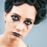 Woman depicting the concept og Evil (Medusa Gorgon) — Stock Photo #5163787