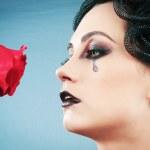 Woman depicting the concept og Evil (Medusa Gorgon) — Stock Photo #5163797