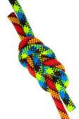 Conjunto de nudos de cuerda — Foto de Stock