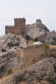 热那亚苏达克城堡 — 图库照片