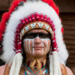 Foto Stock: North AmericIndian