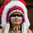 Foto de Stock  : North AmericIndian
