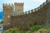 Genoese Sudak Castle — Stock Photo