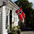 Stock Photo: Old part of Stavanger, Norway