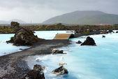 Modrá laguna, island — Stock fotografie
