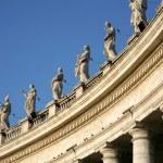 Sculptures of saints — Stock Photo #4627197