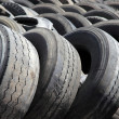 Stock Photo: Old tyres