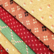 Samples of color a carpet covering in shop — Stock Photo #4627509