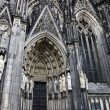 Cologne cathedral, Germany — Stock Photo