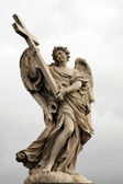 "Angels on the bridge ""Ponte Sant Angelo"" — Stock Photo"