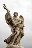 """Angels on the bridge """"Ponte Sant Angelo"""" — Stock Photo"""