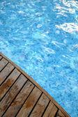 Frammento di una piscina — Foto Stock