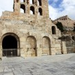 Stock Photo: Odeon is stone theatre, Acropolis, Athens