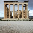 Erechtheum is an ancient temple in Acropolis — Stock Photo
