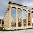 Erechtheum is an Greek temple in Acropolis — Stock Photo