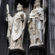 Sculptures of the Cologne Cathedral — Stock Photo