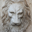 Bas-relief of a lion — Stock Photo