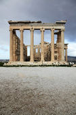 Erechtheum is an ancient temple in Acropolis — Stock Photo