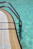 Scaletta in piscina — Foto Stock