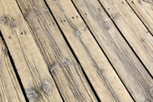 Boards with nails — Stock Photo