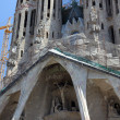 Cathedral Sagrada de Familia, Barcelona, Spain — Stock Photo