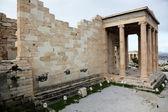 Erechtheum is an ancient Greek temple — Stock Photo