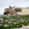 Erechtheum, Acropolis of Athens in Greece — Stock Photo