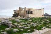 Erechtheum, Acropolis of Athens in Greece — Stock Photo