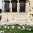 Erechtheum is an ancient Greek temple — Stock Photo
