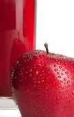 Red apple — Foto de Stock