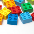 Stock Photo: Color bricks