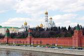 Moscow kremlin muur — Stockfoto