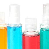 Savon liquide, gel, shampooing, huile — Photo