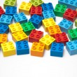 Color Bricks - Stock Photo