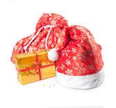 Cap, bag and box — Stock Photo