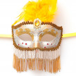 Italian mask — Stock Photo