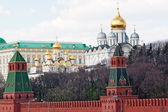 Moskva kreml vägg — Stockfoto