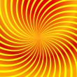 Twirl yellow abstract — Image vectorielle