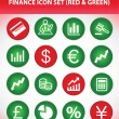 Stock Vector: Finance Icon Set